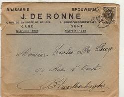 Brasserie Brouwerij J De Ronne à Gand Bière Brasseur - Levensmiddelen