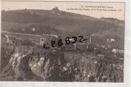CPA - 42 - SAINT ETIENNE - MINES CARRIERES - La Carrière Du Clapier Et Le Puits Sainte Marie - Saint Etienne