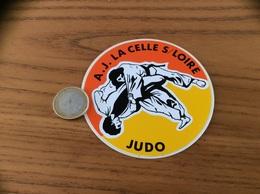 AUTOCOLLANT, Sticker «JUDO - AJ LA CELLE S/ LOIRE (58)» - Aufkleber