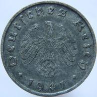 LaZooRo: Germany 10 Pfennig 1941 B XF / UNC - [ 4] 1933-1945 : Troisième Reich