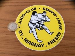 AUTOCOLLANT, Sticker «JUDO CLUB GY MARNAY - FRESNE SAINT-MAMES (70)» - Aufkleber