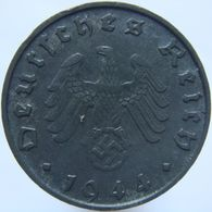 LaZooRo: Germany 10 Pfennig 1944 B XF / UNC - [ 4] 1933-1945 : Troisième Reich