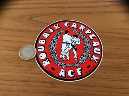 AUTOCOLLANT, Sticker «ACF - ROUBAIX CARPEAUX (59)» (judo) - Aufkleber