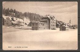 Carte P ( Le Sentier En Hiver ) - VD Vaud