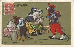 CHAUSSURES RAOUL , Idylle , Série : Les Rats - Publicité