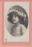 OLD  PHOTO POSTCARD    FAMOUS MODEL GRETE REINWALD - GREAT PORTRAIT  1911 - Portraits