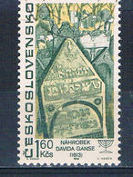 Czechoslovakia 1480 Used Tombstone 1967 CV 2.75 (HV0002) - Czech Republic