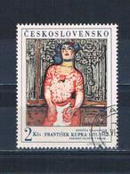 Czechoslovakia 1546 Used Cabaret Performer 1968 (MV0150)+ - Czech Republic