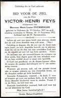 Halluin, Halewijn, 1952, Menen, Victor Feys, Overberghe, - Imágenes Religiosas