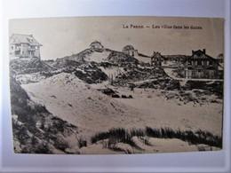 BELGIË - WEST-VLAANDEREN - DE PANNE - Les Villas Dans Les Dunes - De Panne