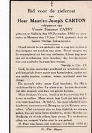 Halluin, Halewijn, 1944, Maurice Carton, Catry - Imágenes Religiosas