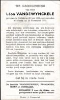 Halluin, Halewijn, 1951, Leon Vandewynckele, Menen - Imágenes Religiosas