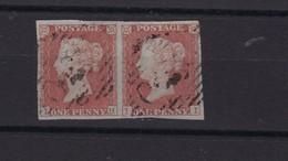 Grande Bretagne N° 3 Paire, Obl , TB - 1840-1901 (Victoria)