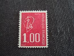 """1976- MARIANNE De Béquet , Neuf  N° 1892 B  """" 1f Rouge"""" Sans Phosphore,gomme Brillante - Net 1.5  -   Photo   2 - 1971-76 Marianne (Béquet)"""