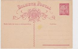 Portugal India Mint Postal Card 3 Reis - Portuguese India