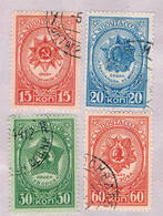 Russia 923-26 Used Set Medals 1944 CV 1.15 (R1146) - Russia & USSR