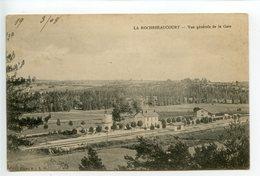 La Rochebeaucourt Vue Générale De La Gare - France