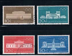 Germany B459-62 Used Set Olympics 1972 (GI0314P84)+ - [7] Federal Republic