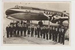 Vintage Rppc KLM London - Christchurch Race Douglas Dc-6A PH-TGA Aircraft - 1919-1938: Between Wars