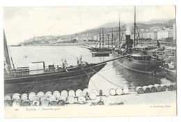 BASTIA (Corse) Nouveau Port Bateau à Vapeur - Bastia