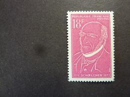 FRANCE, Année 1957, YT N° 1092 Neuf MH*, Victor Schoelcher - Nuovi