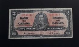 Canada 2 Dollars 1937 Osborne - Canada