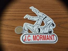 AUTOCOLLANT, Sticker «JC MORMANT (77)» (JUDO CLUB) - Autocollants