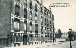 LILLE-ST-MAURICE Clinique Ambroise Pare Avenue E.ZOLA - Lille
