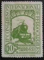 11 Congrès Internacionnal Des Chemins De Fer N° 432 Neuf - 1889-1931 Royaume: Alphonse XIII