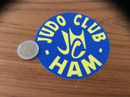 AUTOCOLLANT, Sticker «JUDO CLUB - HAM (80)» - Autocollants