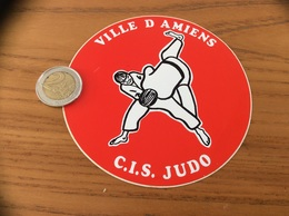 AUTOCOLLANT, Sticker «CIS JUDO - VILLE D'AMIENS (80)» - Autocollants