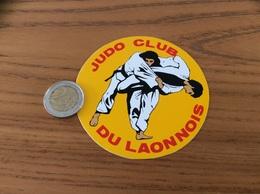 AUTOCOLLANT, Sticker «JUDO CLUB DU LAONNOIS» (Laon 02) - Autocollants
