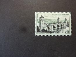 FRANCE, Année 1957, YT N° 1119 Neuf MH*, Pont Valentré Cahors - Nuovi