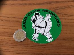 AUTOCOLLANT, Sticker «JUDO CLUB NEUVICOIS» (NEUVIC 24) - Autocollants