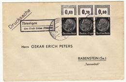 """Deutsches Reich Drucksache Mit Seltenem Postagentur-Stempel """"Neueigen"""" ( Böhmen&Mähren ) - Germany"""