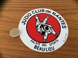 AUTOCOLLANT, Sticker «JUDO CLUB DE NANTES - BEAULIEU (44)» - Autocollants