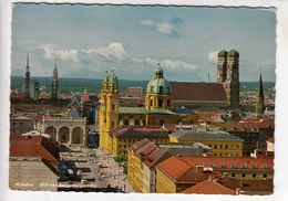 Muenchen, Munich, View Of The City From Ludwig-Church, Unused Postcard [23929] - Muenchen