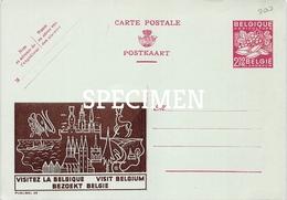 Briefkaart - Publibel  05 - Visitez La Belgique - Bezoek België - Visit Belgium - Pubblicitari