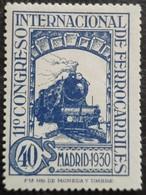 11 Congrès Internacionnal Des Chemins De Fer N° 437 Neuf Avec Trace De Charnière - 1889-1931 Royaume: Alphonse XIII