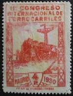 11 Congrès Internacionnal Des Chemins De Fer N° 440 Neuf Regommé - 1889-1931 Reino: Alfonso XIII