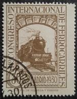 11 Congrès Internacionnal Des Chemins De Fer N° 436 - 1889-1931 Royaume: Alphonse XIII