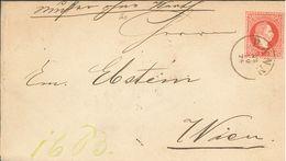 Ganzsachen-Brief (5 Kreuzer) Rann (heute Brezice) Nach Wien - 1850-1918 Imperium