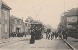 CPA:TRAMWAY VALDOIE ROUTE DU VALDOIE BELFORT (90) - Belfort - City
