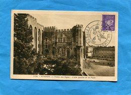 Carte Postale  - AVIGNON -cachet Journée Du Timbre 1943-cote 20 Eu - 1950-1959