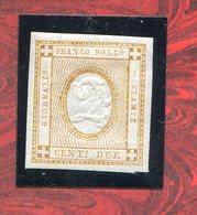 REGNO D'ITALIA 1862 -VITTORIO EMANUELEII  N° 10  MNH** - Nuevos