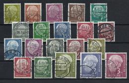 Bundesrepublik 177/196 Gest. - Used Stamps