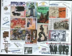 San Marino 2009 Souvenir Shhet -  Foglietto Centenario Manifesto Del Futurismo   ** MNH - Unused Stamps