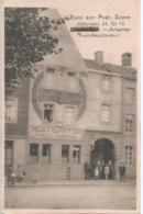 Eupen - Hotel Zur Post - Klötzerbahn 24 - Autogarage - Fremdenzimmer - Ed. N. Lahousse - 1928 - Eupen