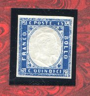 REGNO D'ITALIA 1863 -VITTORIO EMANUELEII  N° 11  MNH**FIRMATO DIENA - Mint/hinged