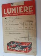 POCHETTE NEGATIFS  KODAK LUMIERE SUPER LUMICHROME + NEGATIFS - Matériel & Accessoires